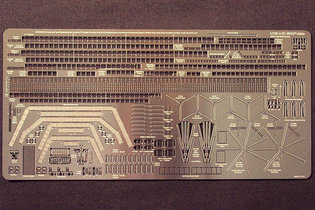 Gold Medal Models Shipsets Uss Wasp Class Lhd